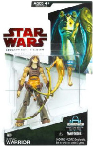 SW Legacy Collection - Build a Droid - Gungan Warrior with Horn