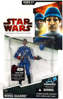 SW Legacy Collection - Build a Droid - Black Card - Bespin Cloud City Wing Guard