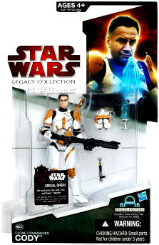 SW Legacy Collection - Build a Droid - Black Card - Clone Commander Cody