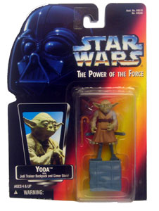 POTF: Yoda with Jedi Trainer Backpack