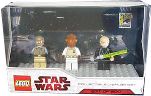 LEGO Star Wars - SDCC 2009 - Mini-Fig Limited Edition [with Jedi Luke Skywalker]