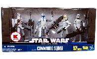Clone Commando Squad - Exclusive[Clone Trooper with Space Gear, Captain Rex, Clone Pilot, ARF Trooper]