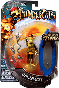 Thundercats 2011  Line on Thundercats 2011   4 Inch Wily Kat Picture