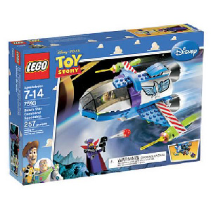 Toy Story LEGO - Buzz Star Command Spaceship - 7593