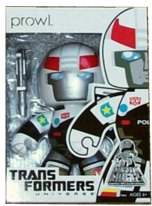 Mighty Muggs - SDCC 2010 Exclusive Autobot Prowl