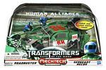 Transformers 3 Movie Human Alliance - Roadbuster with Sergeant Recon
