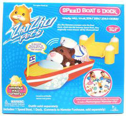 cepia zhu zhu pets speed boat amp dock accessory set 2008